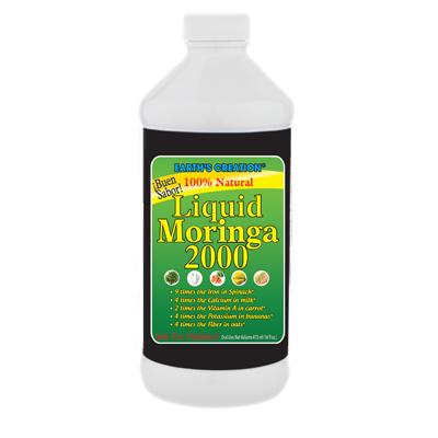 Liquid Moringa Oleifera | Earth's Creation USA