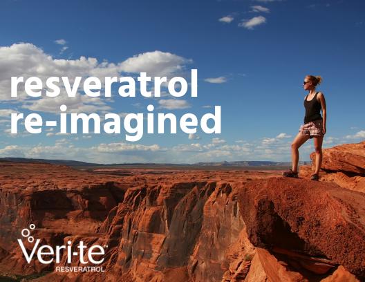 Veri-te™ resveratrol re-imagined