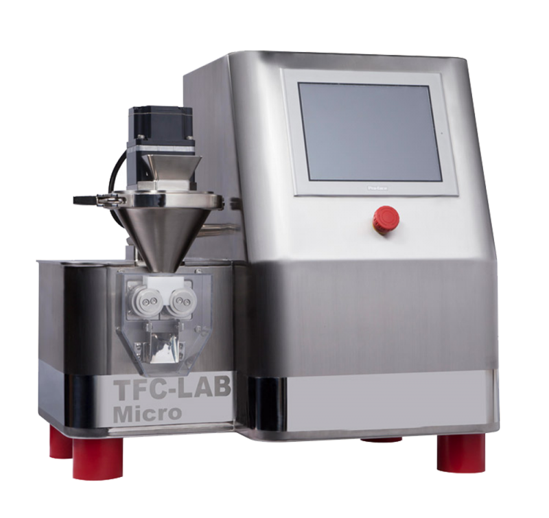 TFC-LAB Micro Roll Compactor   Freund-Vector