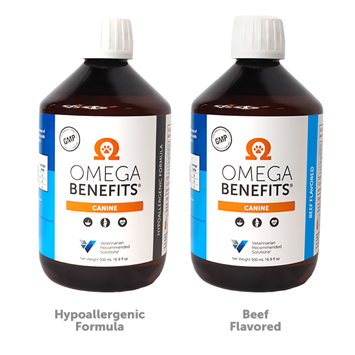 Omega Benefits® Canine | VRS Veterinarian Recommended Solutions