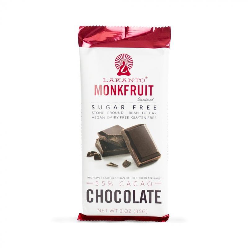 Sugar-Free 55% Chocolate Bars   Lakanto