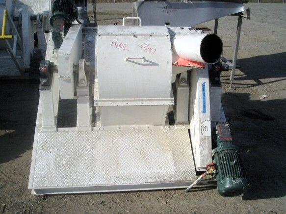 Used 2 Row 5 HP Cage Mill | Machinery & Equipment Co.