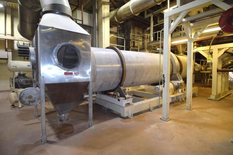 Used FMC Link-Belt Roto-Shell 316 Stainless Steel Dryer | Machinery & Equipment Co.