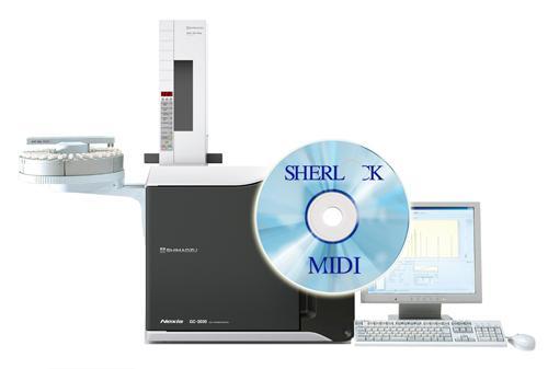 MIDI Sherlock Chromatographic Analysis System - Shimadzu