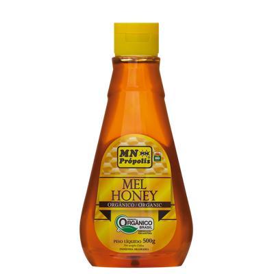 Pure Organic Honey 500g - MN Própolis