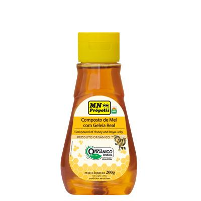 Compound of Organic Honey with Royal Jelly 200g - MN Própolis