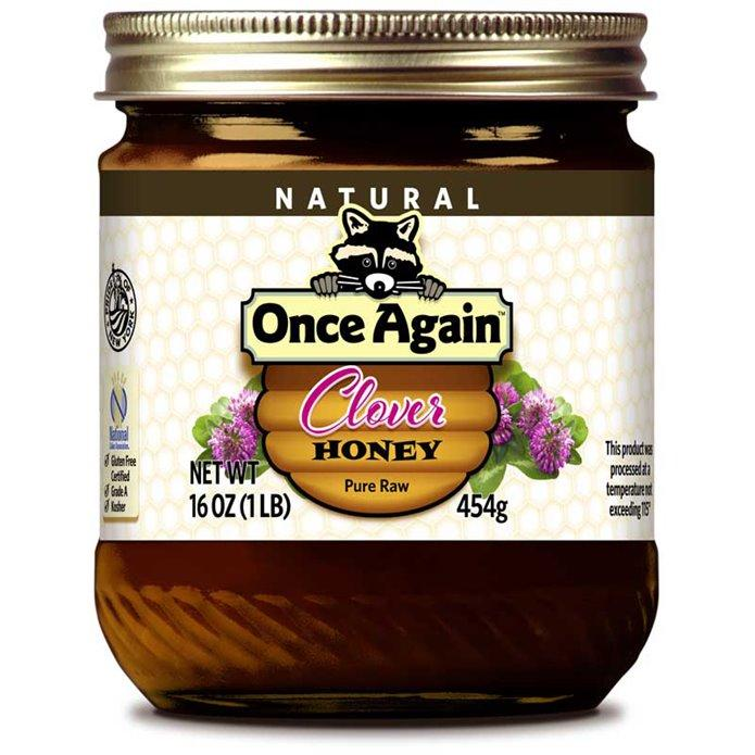 Once Again Nut Butter - Once Again Clover Honey 16 oz
