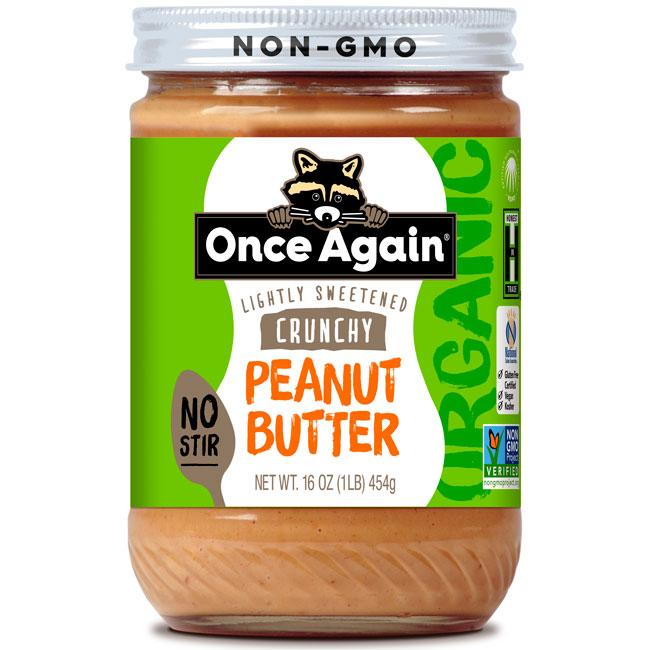 Once Again Nut Butter - Once Again Organic American Classic Crunchy Peanut Butter 16 oz