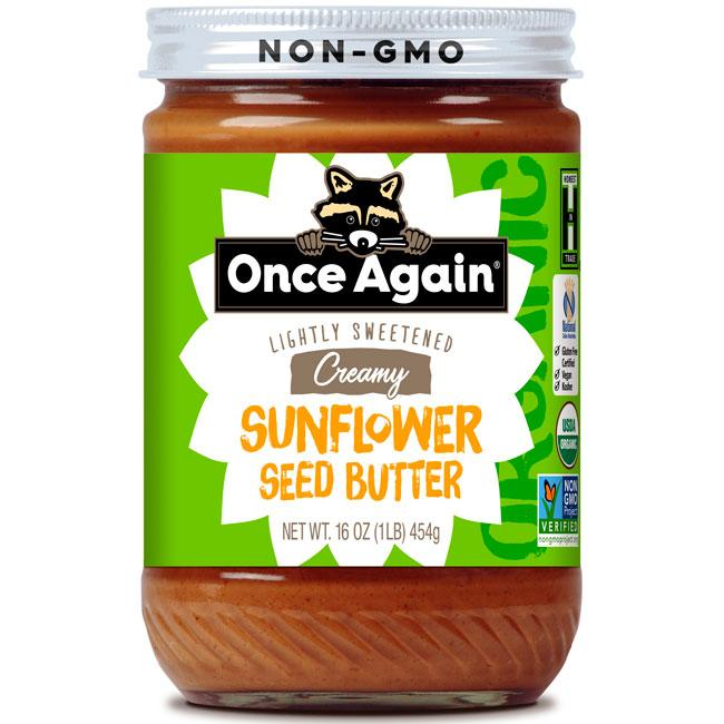 Once Again Nut Butter - Once Again Organic Sunflower Butter 16 oz