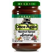 Once Again Nut Butter - Once Again Organic Amoré Hazelnut Spread with Cocoa & Milk 12 oz