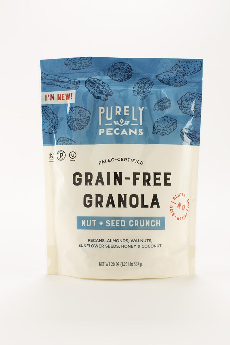 Purely Pecans Grain-Free Granola - South Georgia Pecan