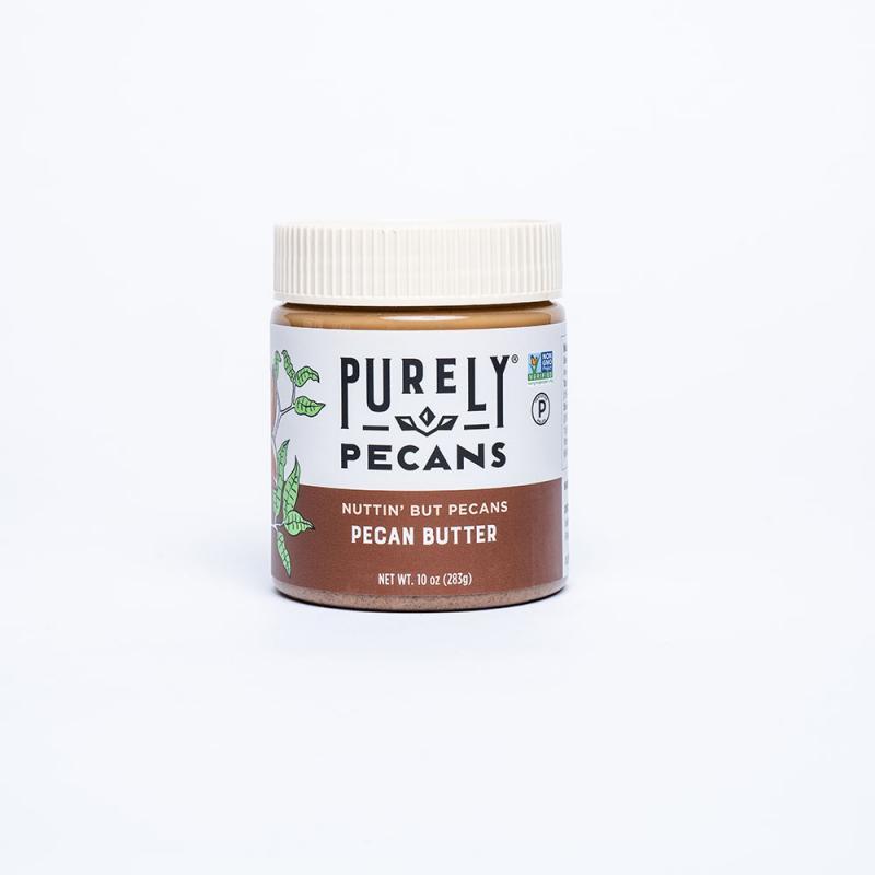 Purely Pecans Pecan Butter- Nuttin' But Pecans - South Georgia Pecan