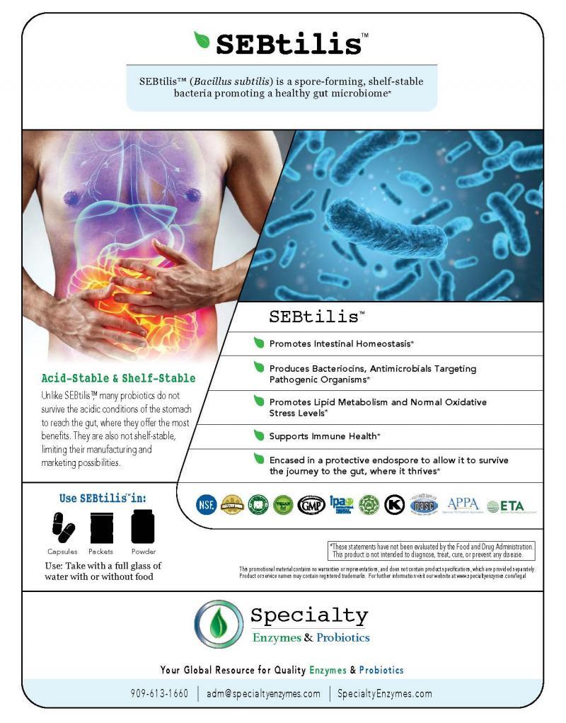 SEBtilis™ (Bacillus subtilis)