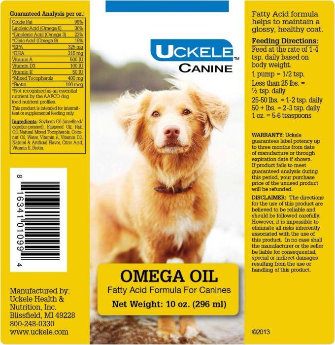 Uckele Health & Nutrition Omega Oil