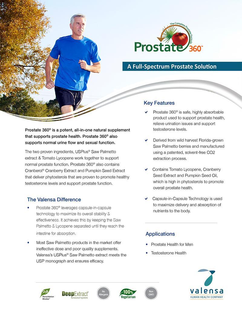 Prostate 360® – Valensa
