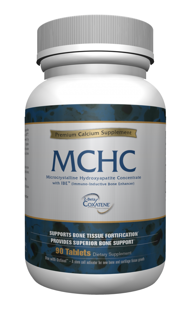 MCHC Standard with IBE™ - Premium Calcium Supplement - Ostinol - ZyCal Bioceuticals Healthcare Co Inc