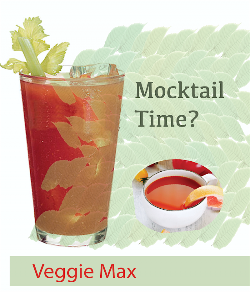 Veggie Max: Functional Mocktail/Cocktail/Soup base mix for private label.
