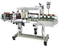 Model CVC430, Front/Back Labeler with Wrap Station On CVC Technologies, Inc.