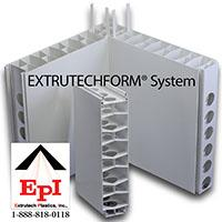 Extrutech FORM Wall System On Extrutech Plastics, Inc.