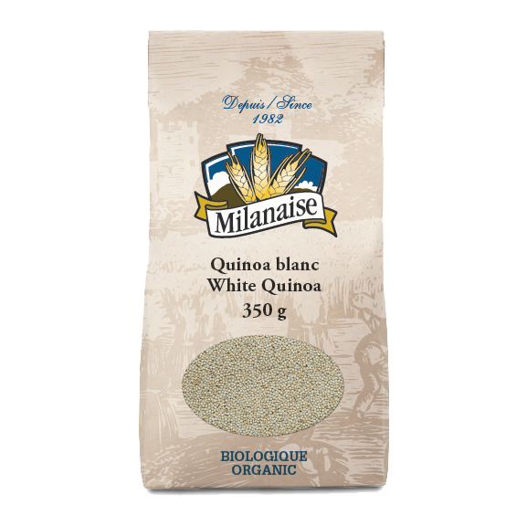 Organic White Quinoa – La Milanaise