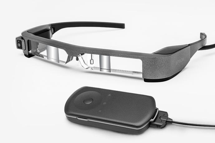 Moverio BT-300 Smart Glasses (AR/Developer Edition) | Smart Glasses | Wearables | For Work | Epson US