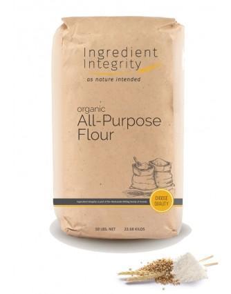 Organic All Purpose Flour 50lb - Organic, Non-GMO   Ingredient Integrity