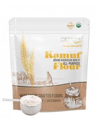 Organic Kamut All Purpose Flour - Organic, Non-GMO   Ingredient Integrity