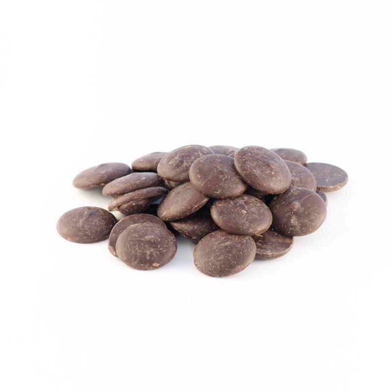 Organic Dark Chocolate Dollops   Tierra Farm