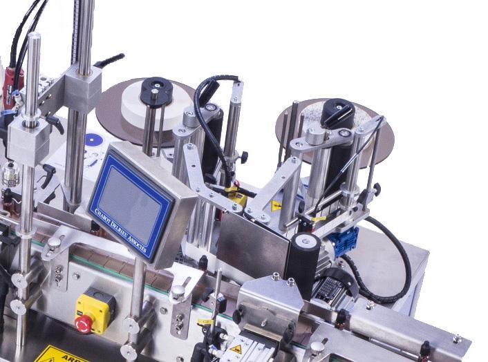 E-FILL - CDA E-liquid automatic filling, capping and labeling machine