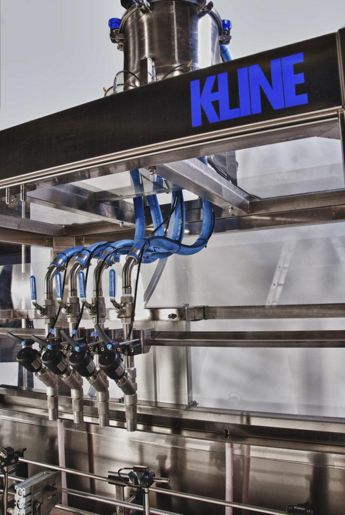 K-Line - Automatic filling and screw-capping machine for all liquids