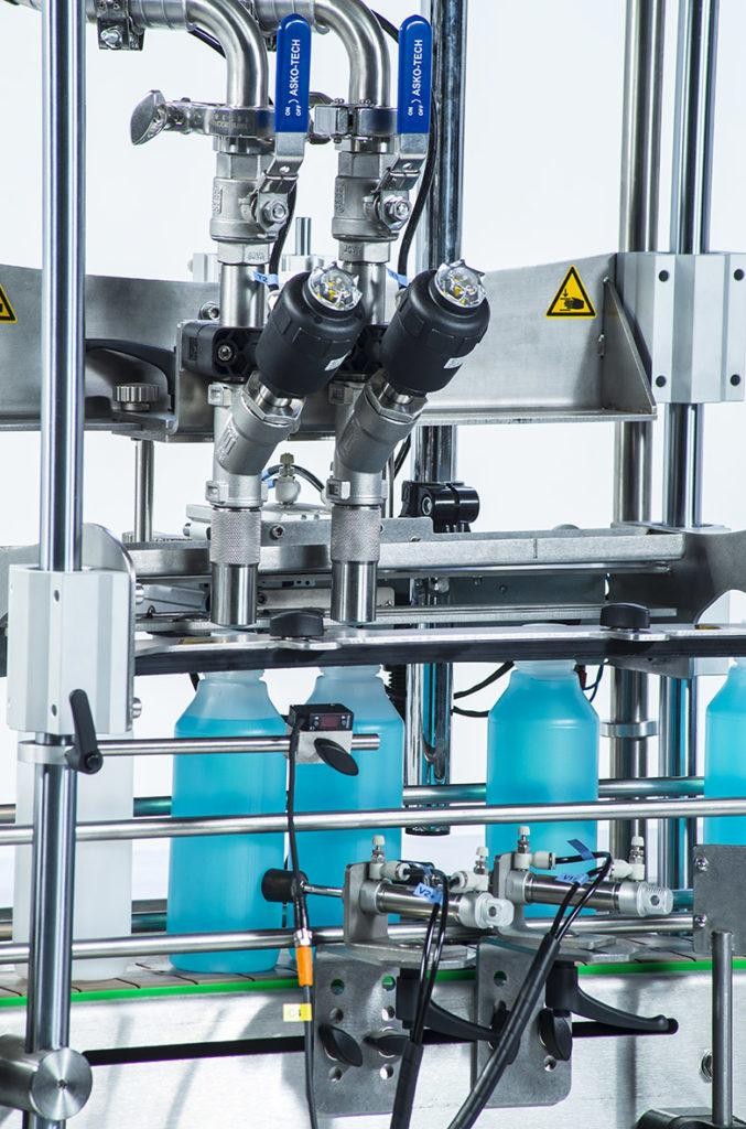 K-net Auto - Automatic filling and screw-capping machine for all products