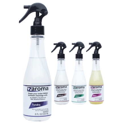 iZaroma Natural Toilet Cleaner - The Cleaning Power of Alcohol & Essential Oils