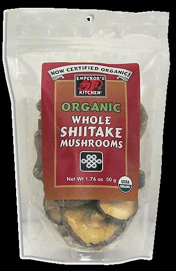 Emperor's Kitchen Organic Shiitake Mushrooms - Great Eastern Sun