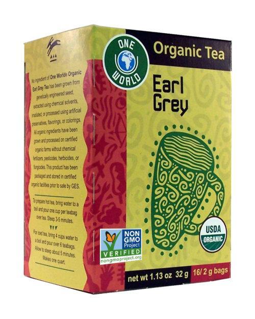 One World Organic Earl Grey Tea - Great Eastern Sun