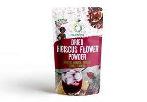 Dried Hibiscus Flower Powder + Free Shipping – iyafoods