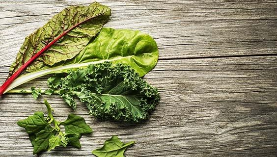 Probiotics with greens