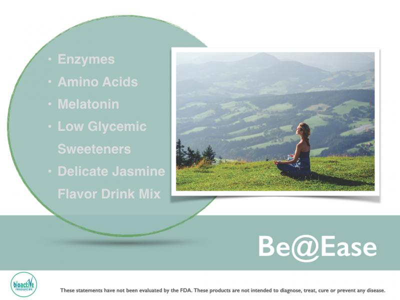 Be@Ease shelf stable all natural comfort drink