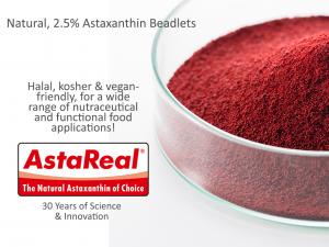 AstaReal 2.5% Astaxanthin Beadlets