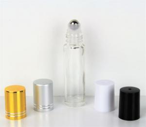 10ml Clear Roll-On Essential Oil Bottle w/ Cap & SS Roller (150 Count – DropperBottles.com