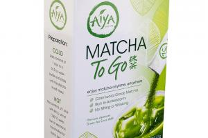 Matcha to Go Stick-Packs | Aiya-America