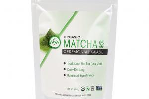 Organic Ceremonial Matcha (100 gram Bag)   Aiya-America