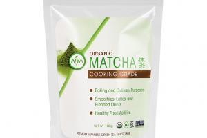 Organic Cooking Grade Matcha (100 gram Bag) | Aiya-America