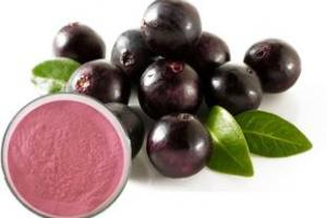 Acai berry fruit powder - http://www.starnaturalmax.com