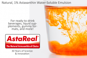 AstaReal Natural, Water Soluble Astaxanthin Emulsion