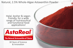 AstaReal 2.5% Whole Algae Astaxanthin Powder