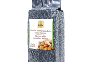 Whole caramalized almonds origine Marcona   Cacao Barry