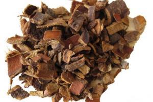Cascara Sagrada Bark Rhamnus Purshiana Bark Extract - Bio Botanica