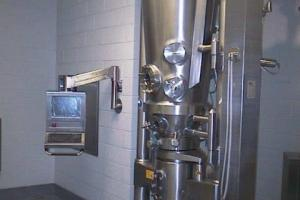 Glatt GPCG 15 SC Fluid Bed Dryer Granulator