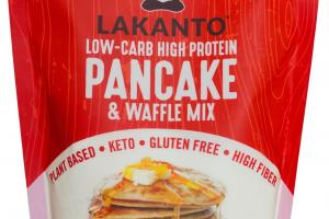 Low Carb, Gluten-free, Pancake Waffle Mix – Lakanto