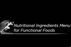 Nutritional Ingredients Menu for Functional Foods